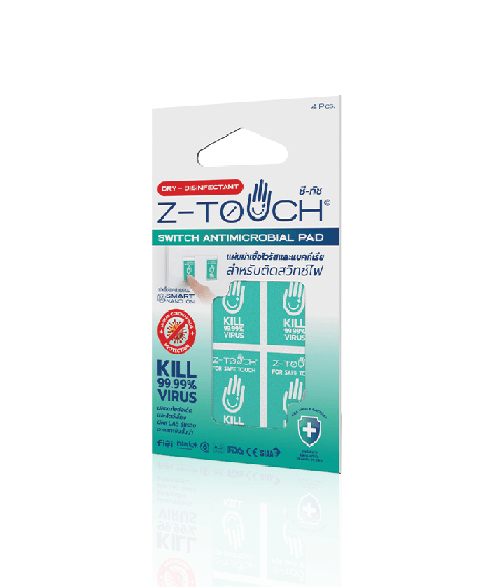 Z-Touch Switch Antimicrobial Pad